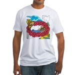 OYOOS Travel Vacation design Fitted T-Shirt