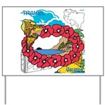 OYOOS Travel Vacation design Yard Sign