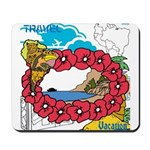 OYOOS Travel Vacation design Mousepad