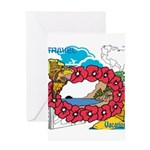 OYOOS Travel Vacation design Greeting Card
