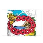 OYOOS Travel Vacation design Postcards (Package of