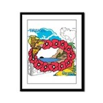 OYOOS Travel Vacation design Framed Panel Print