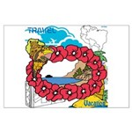 OYOOS Travel Vacation design Large Poster