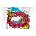 OYOOS Travel Vacation design Pillow Case