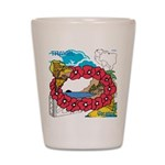 OYOOS Travel Vacation design Shot Glass