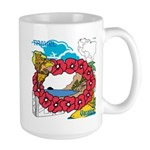 OYOOS Travel Vacation design Large Mug
