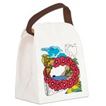 OYOOS Travel Vacation design Canvas Lunch Bag