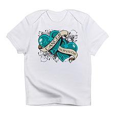 Ovarian Cancer Survivor Infant T-Shirt