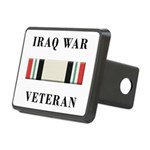 Iraq War Veterans Rectangular Hitch Cover