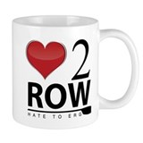 Love 2 Row  Tasse