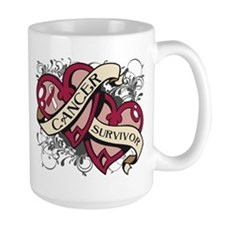 Throat Cancer Survivor Mug