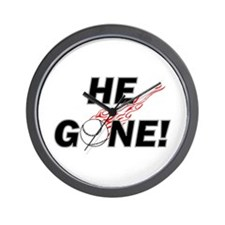 He Gone! Wall Clock