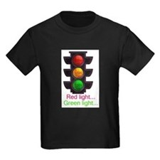Red light, green light Kids T-Shirt T-Shirt