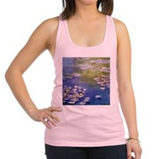 Monet Nympheas at Giverny Racerback Tank Top