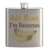I LOVE BANANAS Flask