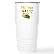 I LOVE CORN Travel Mug
