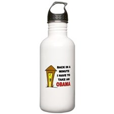 OBAMA OUTHOUSE Water Bottle