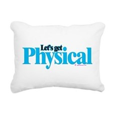 physical Rectangular Canvas Pillow