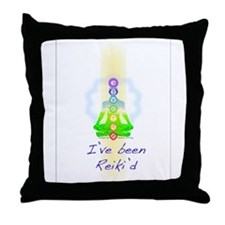 I've Been Reiki'd Throw Pillow