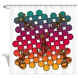 Karma Chameleon Shower Curtain