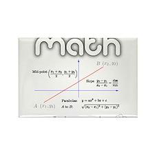 Math Coordinate Geometry Rectangle Magnet