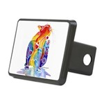 LOVE CAT Bright Colors Rectangular Hitch Cover