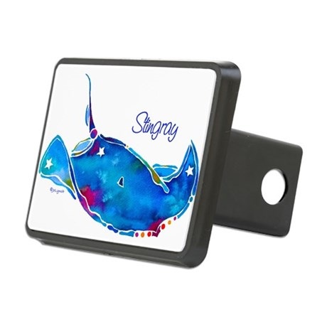 StingRaywTxt.png Rectangular Hitch Cover