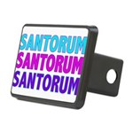 SANTORUMTeal.png Rectangular Hitch Cover