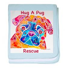 HugPug.jpg baby blanket