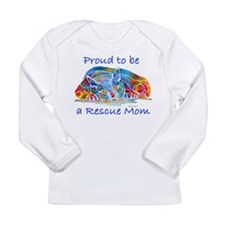 Proud2Becat.jpg Long Sleeve Infant T-Shirt