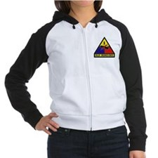 1st Armored Division Women's Raglan Hoodie