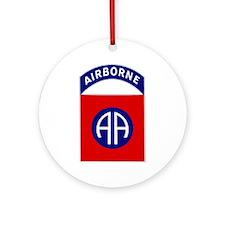 82nd Airborne Ornament (Round)