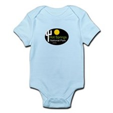 hot springs national park arkansas Infant Bodysuit