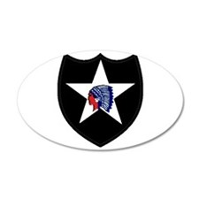 2nd Infantry Division Wall Decal