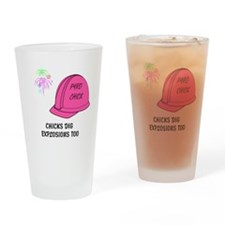 Pyro Chick Drinking Glass