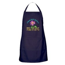 NANAS GROW GARDENS FULL OF LOVE Apron (dark)