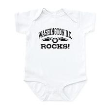 Washington DC Rocks Infant Bodysuit