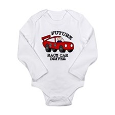 Future Race Car Driver Cute Baby Boy bodysuit Body