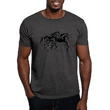HORSES ON BEACH T-Shirt