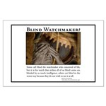 ID Blind Watchmaker Large Poster
