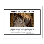 ID Blind Watchmaker Small Poster