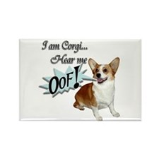 I am Corgi... Rectangle Magnet (10 pack)