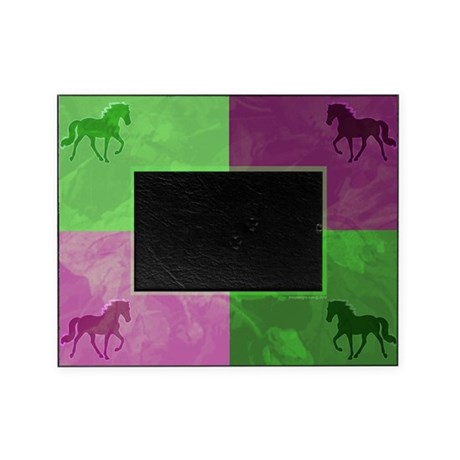 Tennessee Walker Color Block Photo Frame