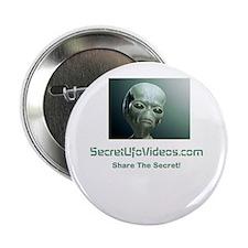 """Secret UFO Videos 2.25"""" Button"""