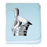 Great Zimbabwe Bird baby blanket