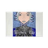 Winter's Kiss Rectangle Magnet