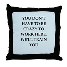WORK2.png Throw Pillow