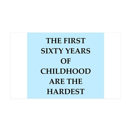 birthday joke 35x21 Wall Decal