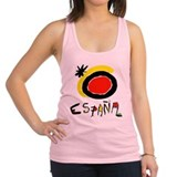 england.png Racerback Tank Top