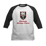 Rhodesia Military Police Kids Baseball Jersey